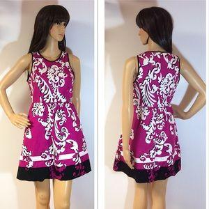 CROWN & IVY BOLD PRINT DRESS